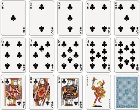 撲克牌數字