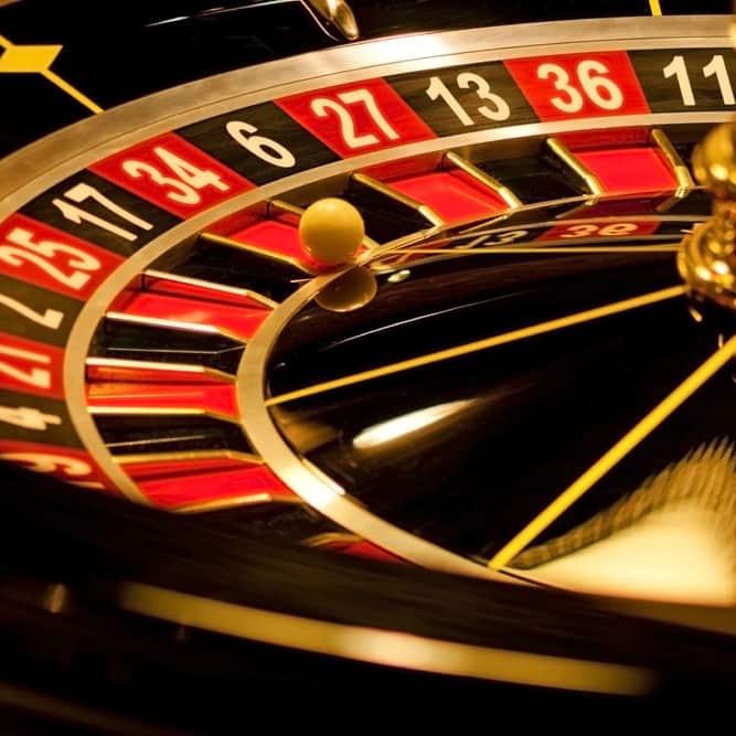 紅黑數字下注遊戲輪盤
